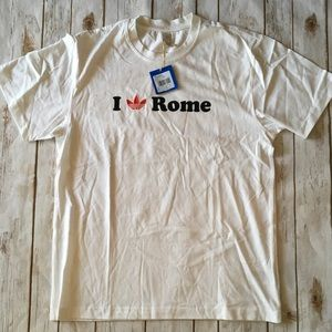 Adidas Rome 🇮🇹 Tee Sz L